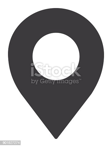 Vector of Location Pin Icon