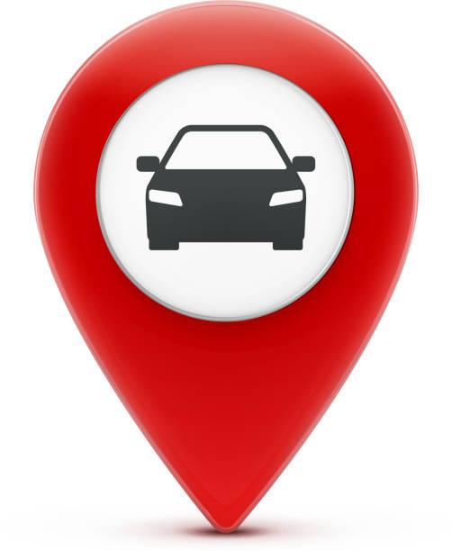 ilustrações, clipart, desenhos animados e ícones de ícone de ponteiro de localização - pin