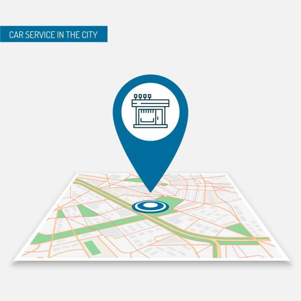 ilustrações, clipart, desenhos animados e ícones de posição ícone vector pin no mapa app móvel café, loja, loja, restaurantes - pin