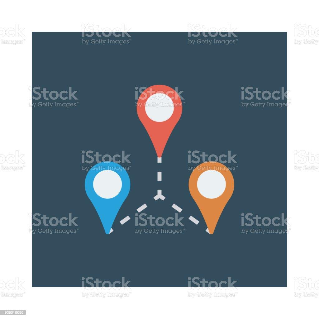 location vector art illustration