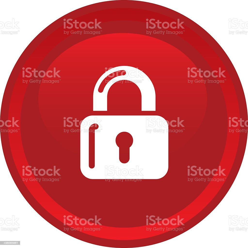 lock button icon web royalty-free lock button icon web stock vector art & more images of business