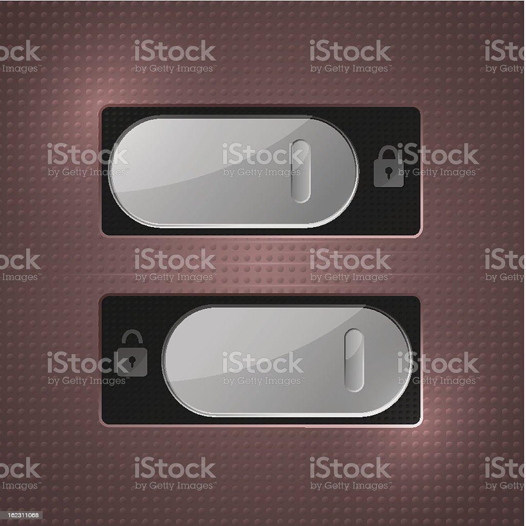 Lock - Unlock royalty-free lock unlock stock vector art & more images of accessibility