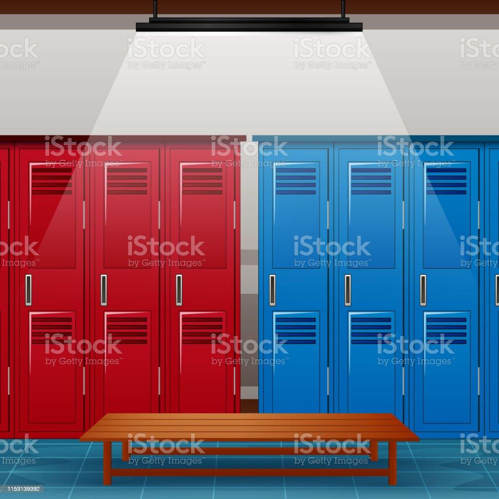 Décoration Pour Casier D École vestiaire de salle de gym ou de vestiaire de sport décole