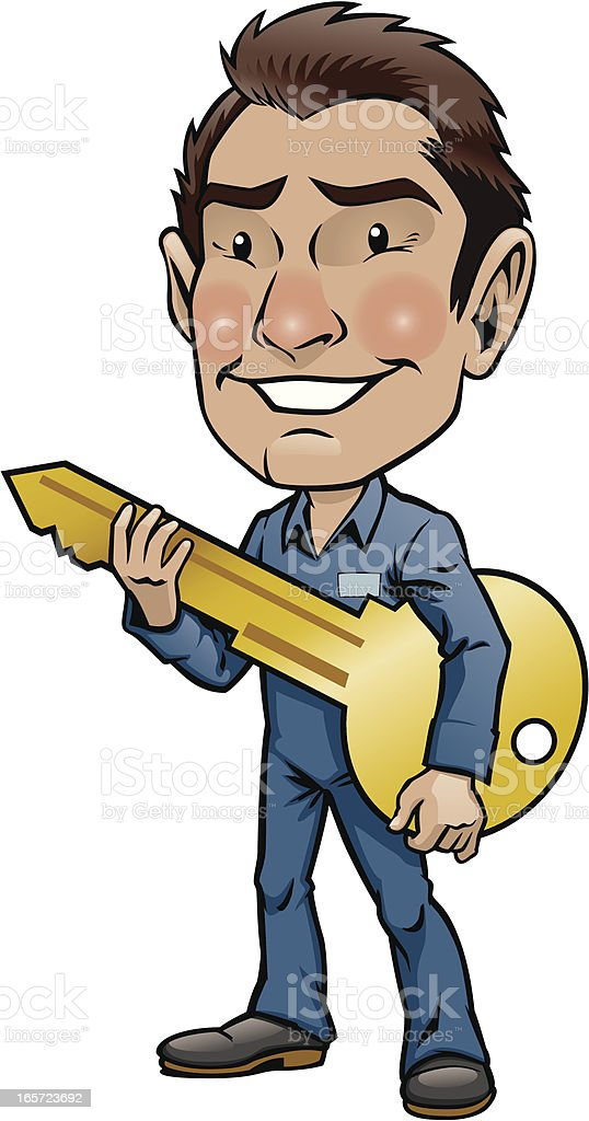 Locksmith royalty-free locksmith stock vector art & more images of adult