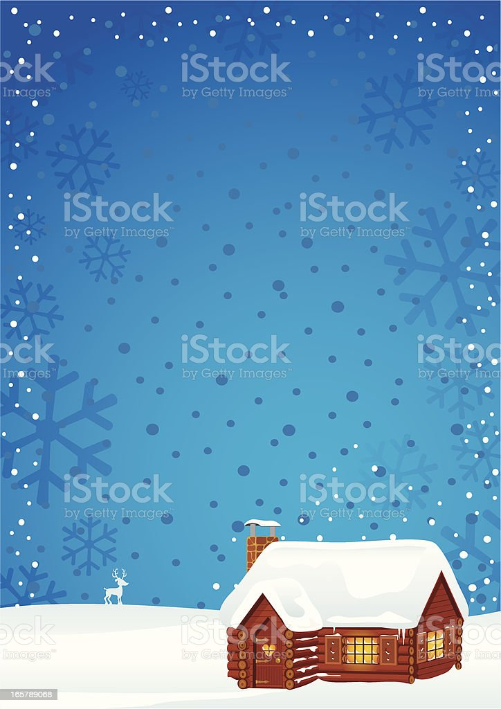 Log Cabin royalty-free log cabin stock vector art & more images of backgrounds
