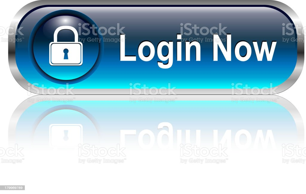 Login Button royalty-free stock vector art