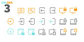 istock Login UI Pixel Perfect Well-crafted Vector Thin Line Icons 48x48 Ready for 24x24 Grid for Web Graphics and Apps with Editable Stroke. Simple Minimal Pictogram Part 3-3 1185193284