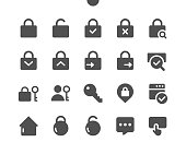 istock Login v1 UI Pixel Perfect Well-crafted Vector Solid Icons 48x48 Ready for 24x24 Grid for Web Graphics and Apps. Simple Minimal Pictogram 1205367699