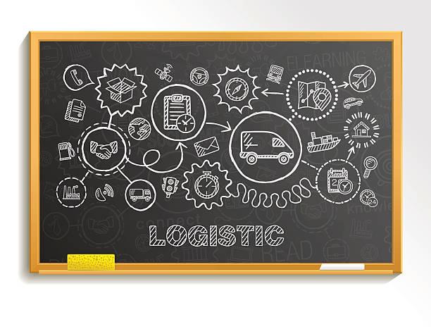 ilustraciones, imágenes clip art, dibujos animados e iconos de stock de logística extraer integrado de iconos de la mano en la escuela de planchar. - suministros escolares