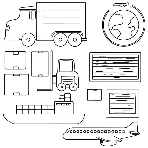Top 60 Hand Forklift Clip Art, Vector Graphics and
