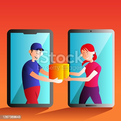 istock Logistics and Delivery concept. 1267389643