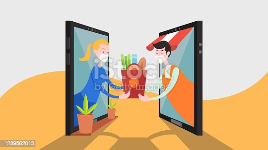 istock Logistics and Delivery concept 1289562013