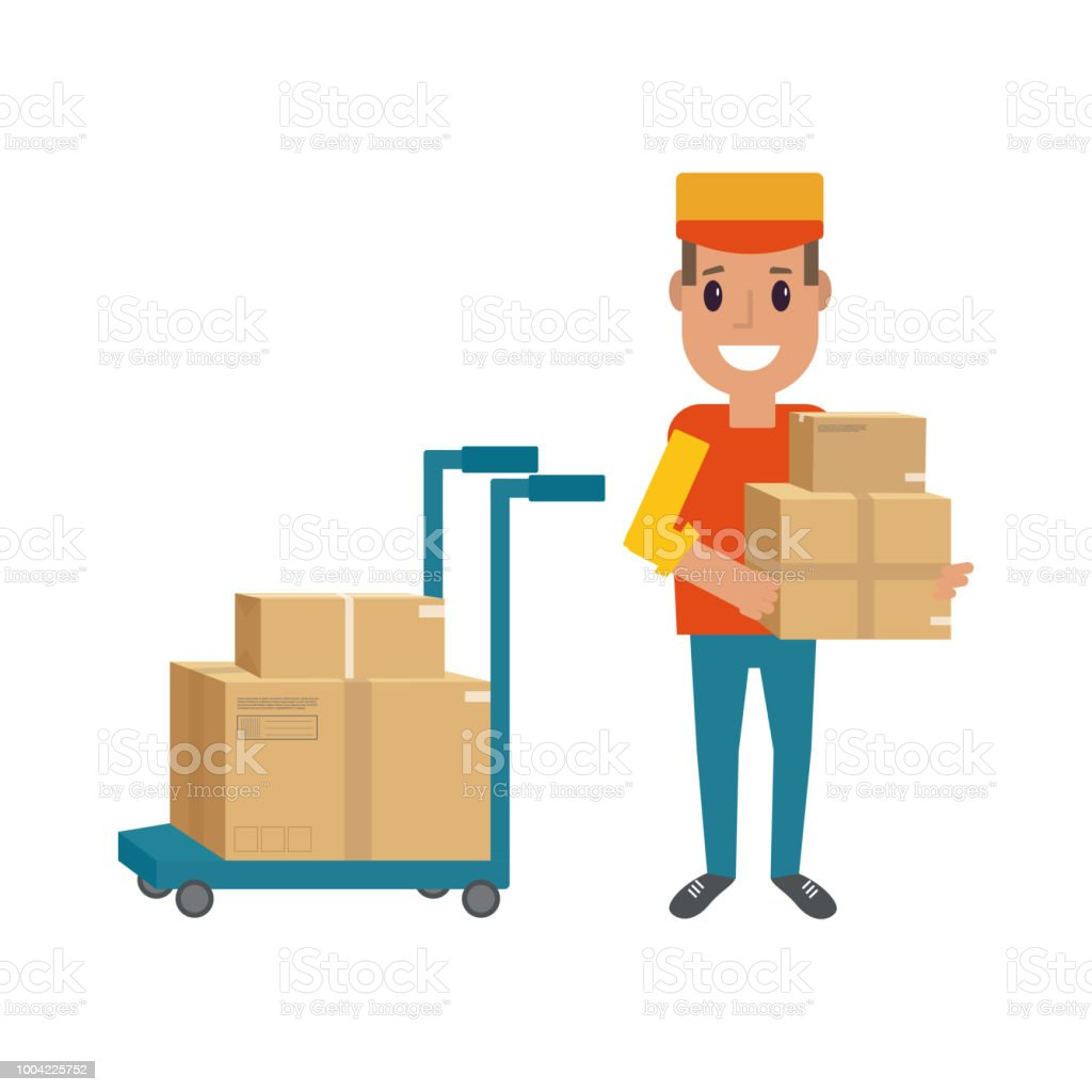 Logistics And Delivery Icon Service Of Shipping Cargo With