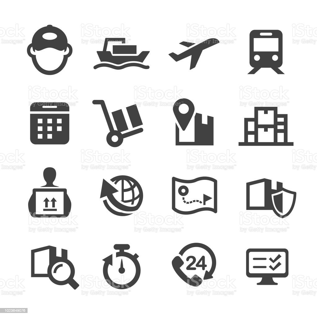 Logistics Icons - Acme Series