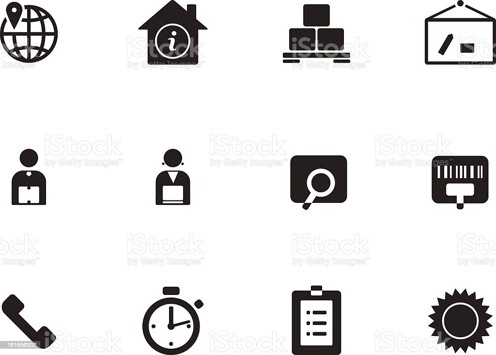 Logistics icons royalty-free logistics icons stock vector art & more images of advice