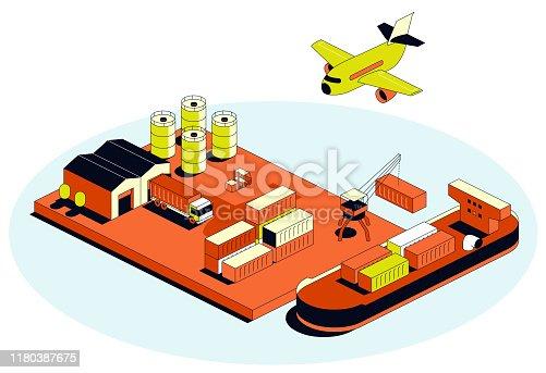 isometric transportation items
