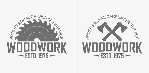 Logo advertising professional carpentry service