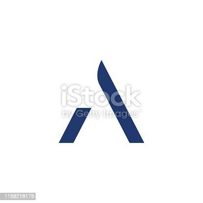 Letter A, Logotype, Icon Symbol, Alphabet