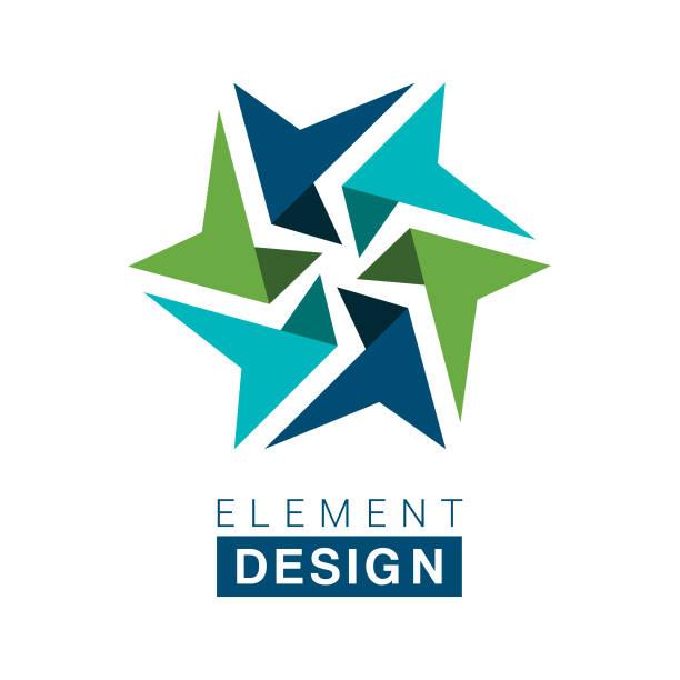Logo Elements Design vector art illustration