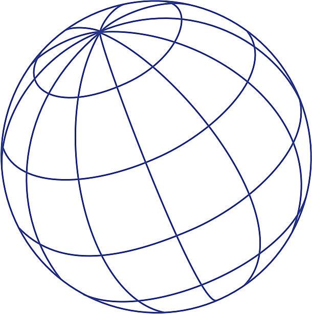 Logo-Elemente: globe – Vektorgrafik