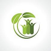 environment friendly symbol
