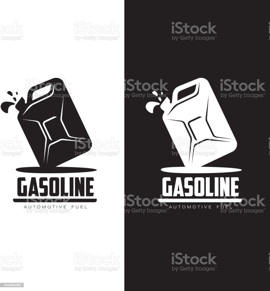 logo für Benzin canisters – Vektorgrafik