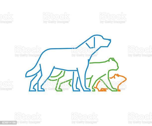Logo for pet shop and veterinary clinic vector id626914186?b=1&k=6&m=626914186&s=612x612&h=vzo5t6gzy4prp1wcaephu alrknz75u2dap3lxqsix4=