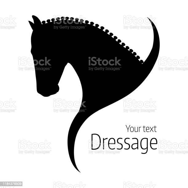 Logo hand drawn black vector dressage horse silhouette vector id1184376509?b=1&k=6&m=1184376509&s=612x612&h=cfrdtovv5uzs2cw3k0thv0rswjikkpo3dqkr5jyzhlk=