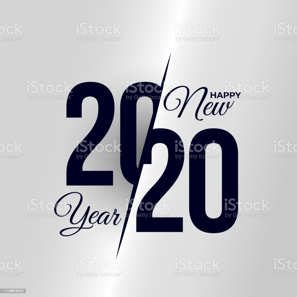 2020 Logo Happy New Year Set Of Celebration Text Graphics ...