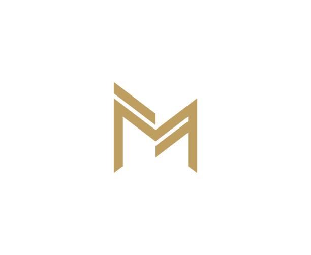 M-Logo-Buchstabe – Vektorgrafik