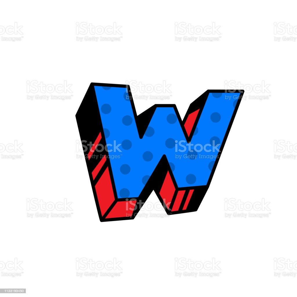 Logo Lettre W Vector Linéaire Icône De Contour Marque