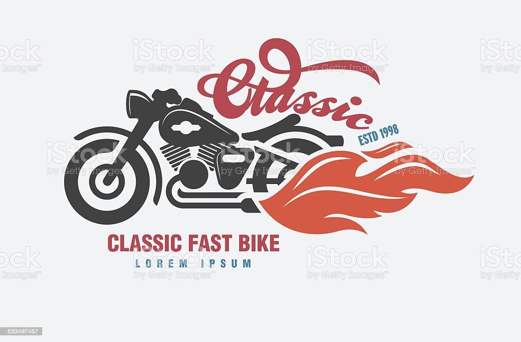logo Motor club vector. vector art illustration