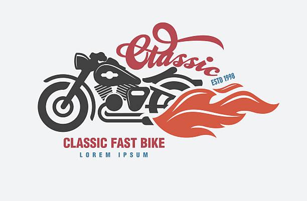 vector de logotipo de Motor club. - ilustración de arte vectorial
