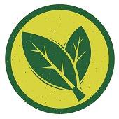 Leaf logo Design. Editable vector Eps8 file.