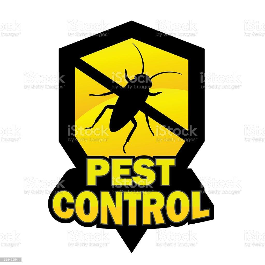 Logo Pest Control Stock Vektor Art und mehr Bilder von Chemikalie - iStock