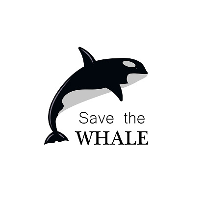 Logo save the Whale.