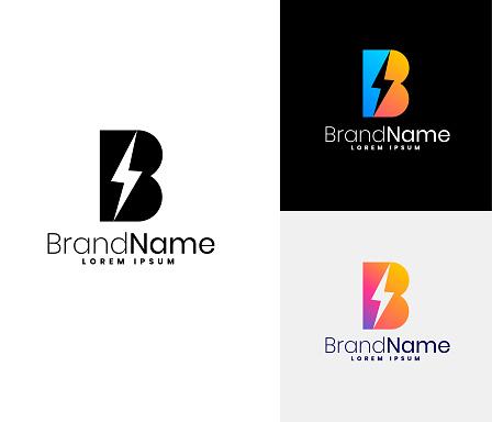 B Logo set