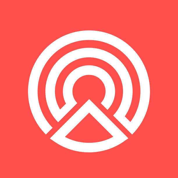 ilustrações, clipart, desenhos animados e ícones de forma c do logotipo - font