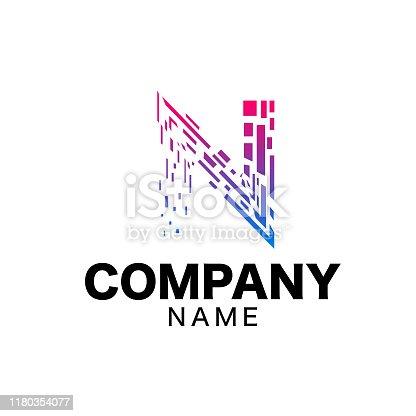 istock N Logo sign 1180354077