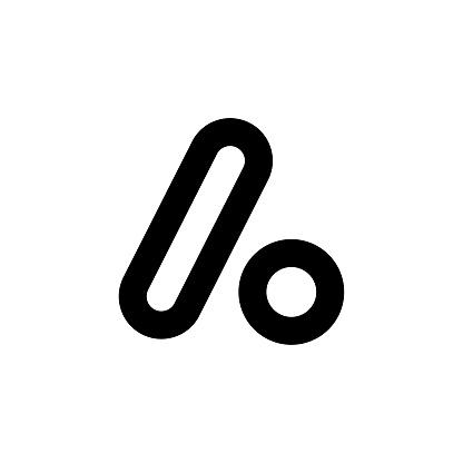 A Logo style shape