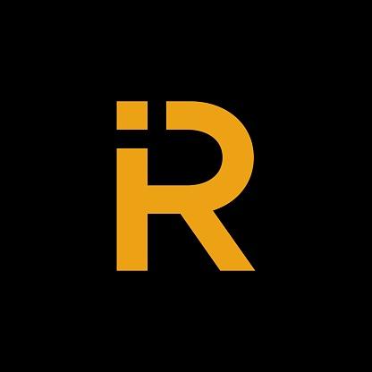 IR logo vector design