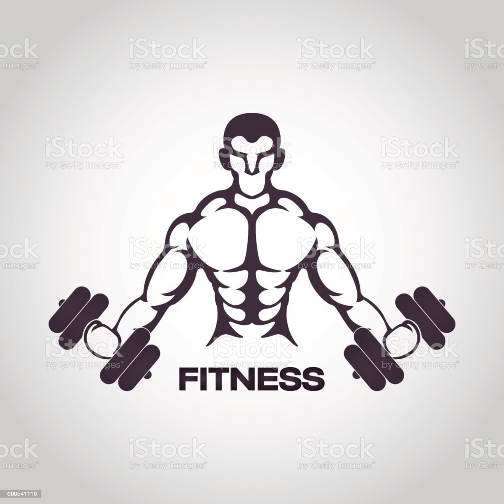 Fitness Logo Vector Icon Design Stock Vector Art  for Physical Fitness Design  66pct