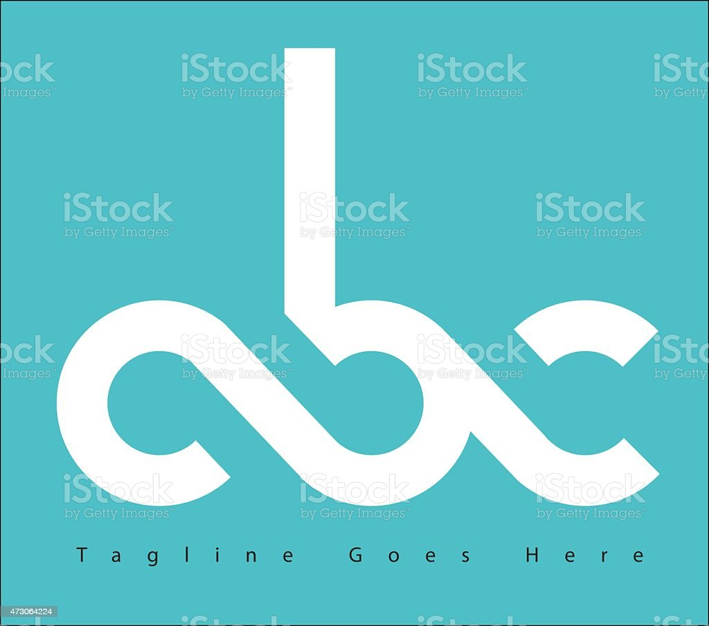 ABC logo vector art illustration