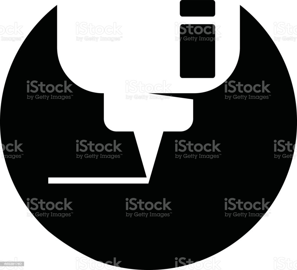 CNC Logo vector art illustration