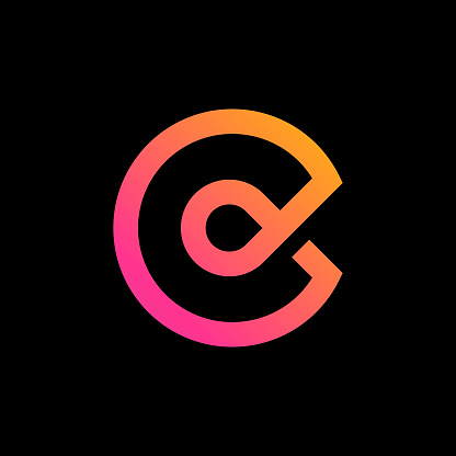 Logo with the letter C.