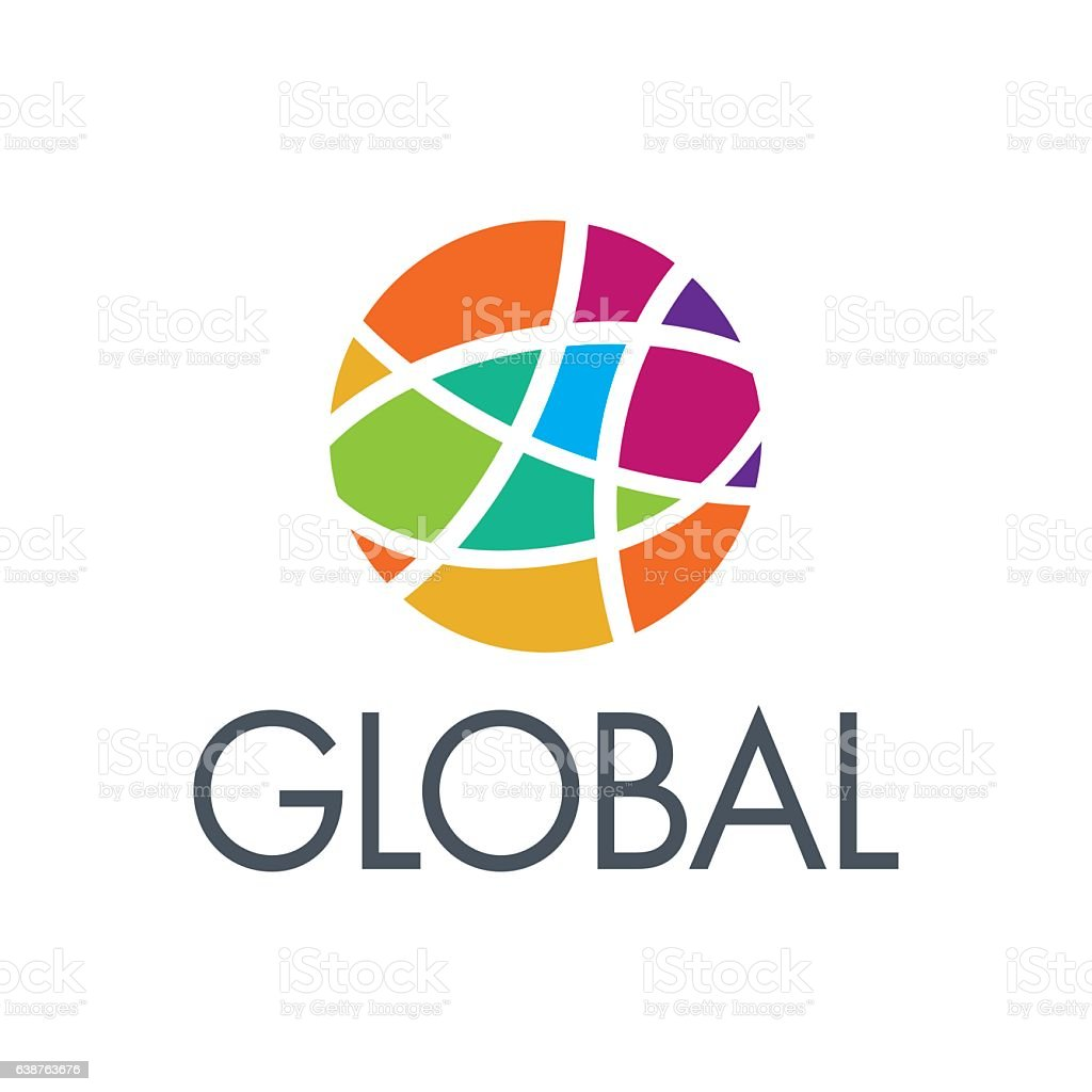 Logo_Earth-global-community-3 vector art illustration