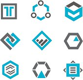 Logos and icons