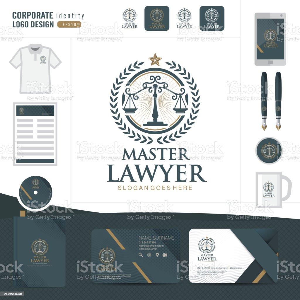 Logotipo corporativo 15 - ilustración de arte vectorial