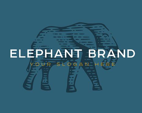 Logotype of the elephant.