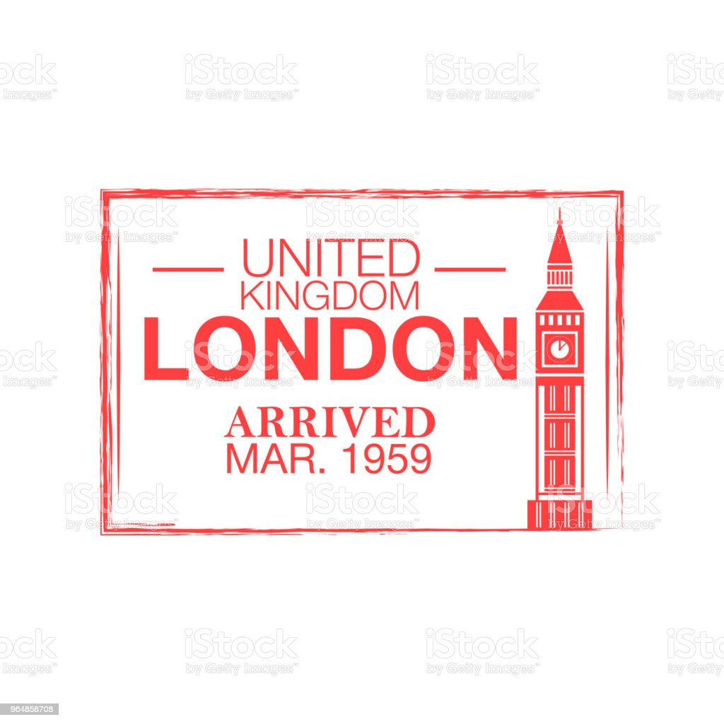 London arrival ink stamp on passport. royalty-free london arrival ink stamp on passport stock vector art & more images of absence